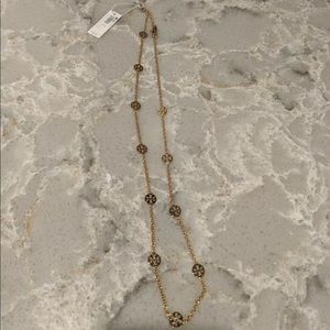 NWT Tory Burch Gold Necklace